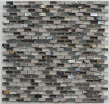 Dal Mare Seaspray Stone, Glass, and Shell Mosaic Tiles - Rocky Point Tile - Glass and Mosaic Tile Store