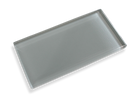 Dove Gray Made To Order Glass Subway Tiles - Rocky Point Tile - Glass and Mosaic Tile Store