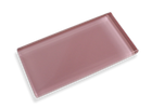 Dusty Rose Made To Order Glass Subway Tiles - Rocky Point Tile - Glass and Mosaic Tile Store