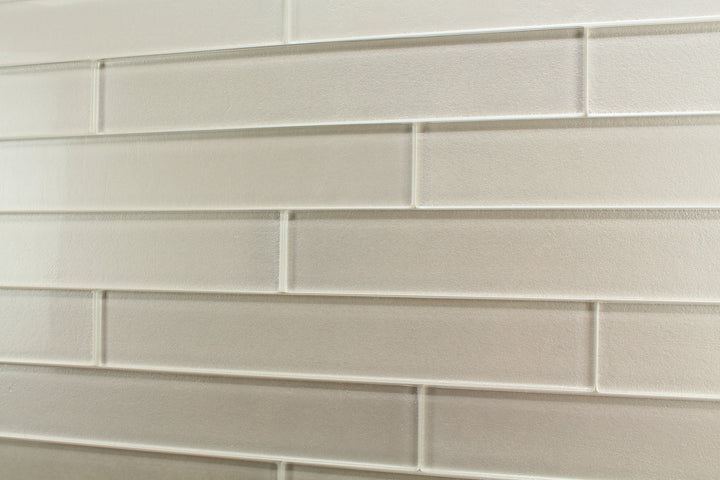 Elements Arctic 2x12 Glass Subway Tiles - Rocky Point Tile - Glass and Mosaic Tile Store
