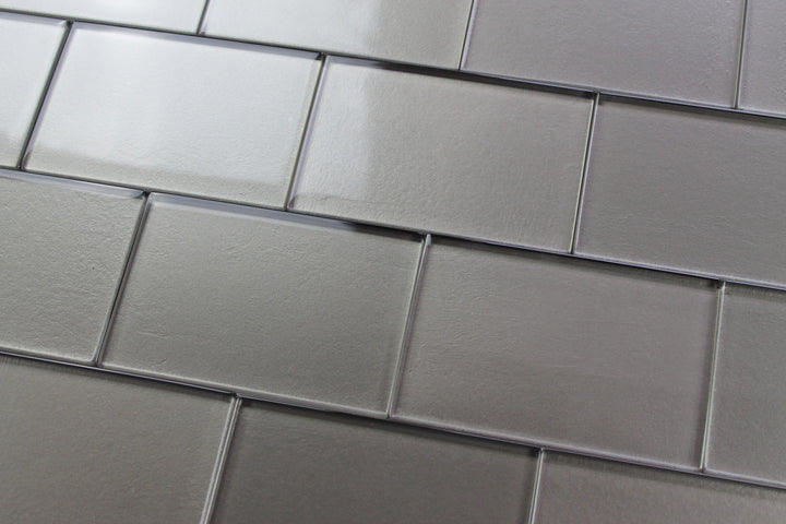 Elements Forest 4x6 Glass Subway Tiles - Rocky Point Tile - Glass and Mosaic Tile Store