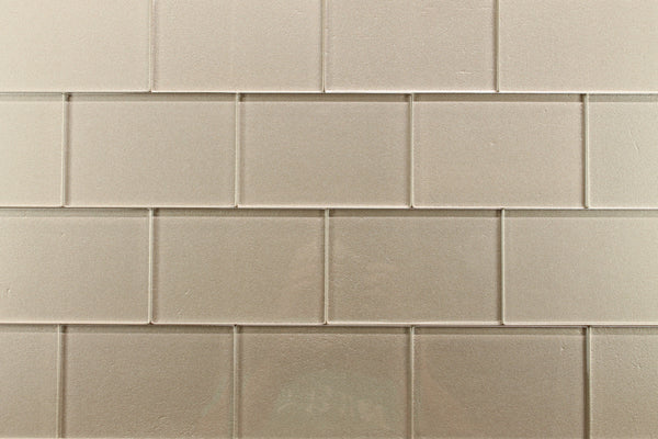Elements Coral 4x6 Glass Subway Tiles Rocky Point Tile
