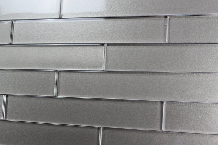 Elements Forest 2x12 Glass Subway Tiles - Rocky Point Tile - Glass and Mosaic Tile Store