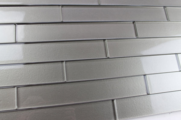 Elements Forest 2x12 Glass Subway Tiles Rocky Point Tile