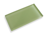 Green Apple Made To Order Glass Subway Tiles - Rocky Point Tile - Glass and Mosaic Tile Store