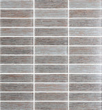 Silk Series Hazelnut  Textured Glass Mosaic Tiles - Rocky Point Tile - Glass and Mosaic Tile Store