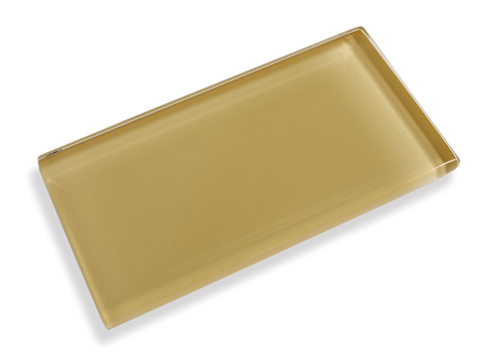 Honey Made To Order Glass Subway Tiles - Rocky Point Tile - Glass and Mosaic Tile Store
