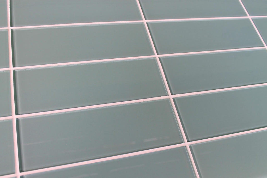 Seaside Blue 4x12 Glass Subway Tiles - Rocky Point Tile - Glass and Mosaic Tile Store