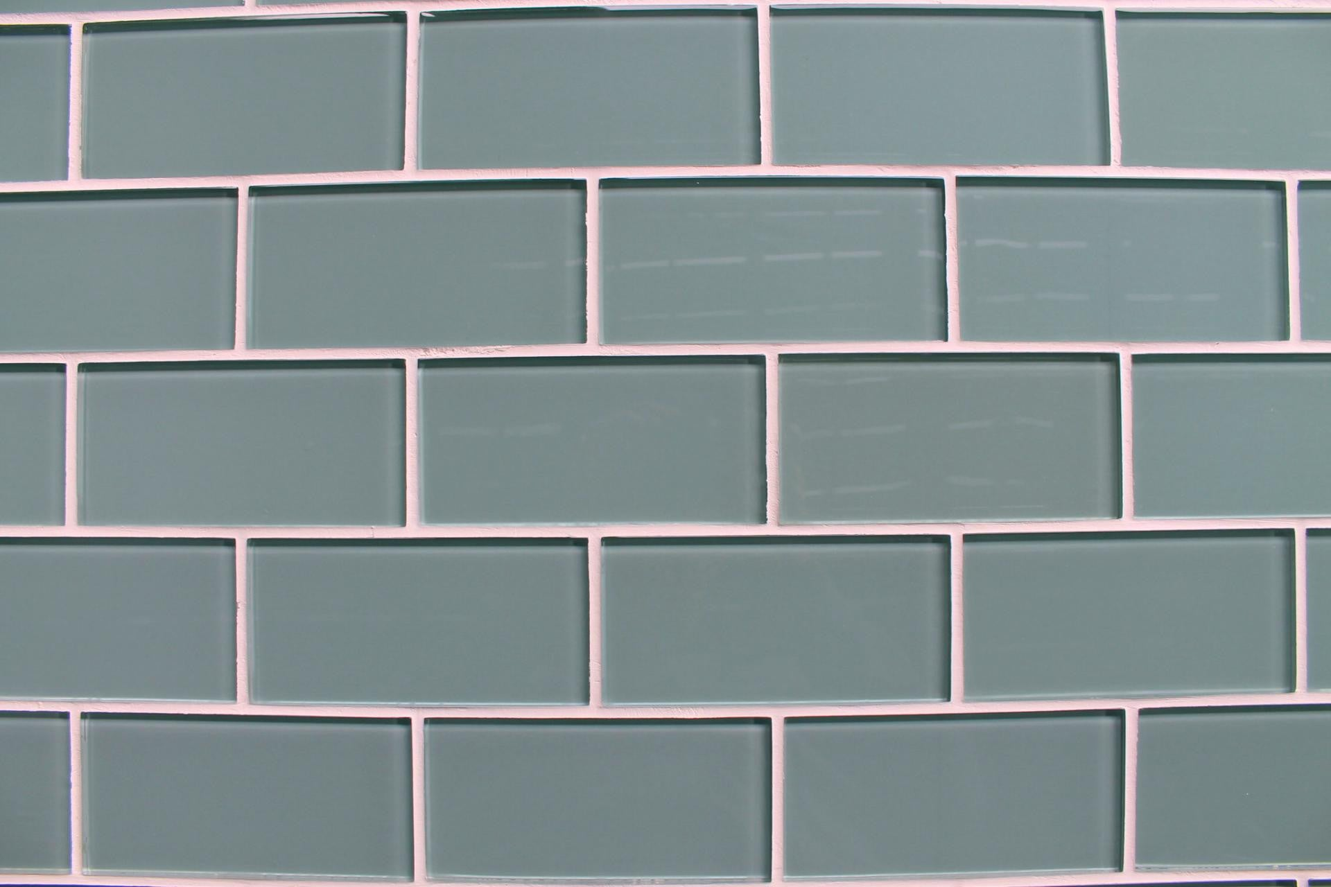 Seaside Blue 3x6 Glass Subway Tiles Rocky Point Tile