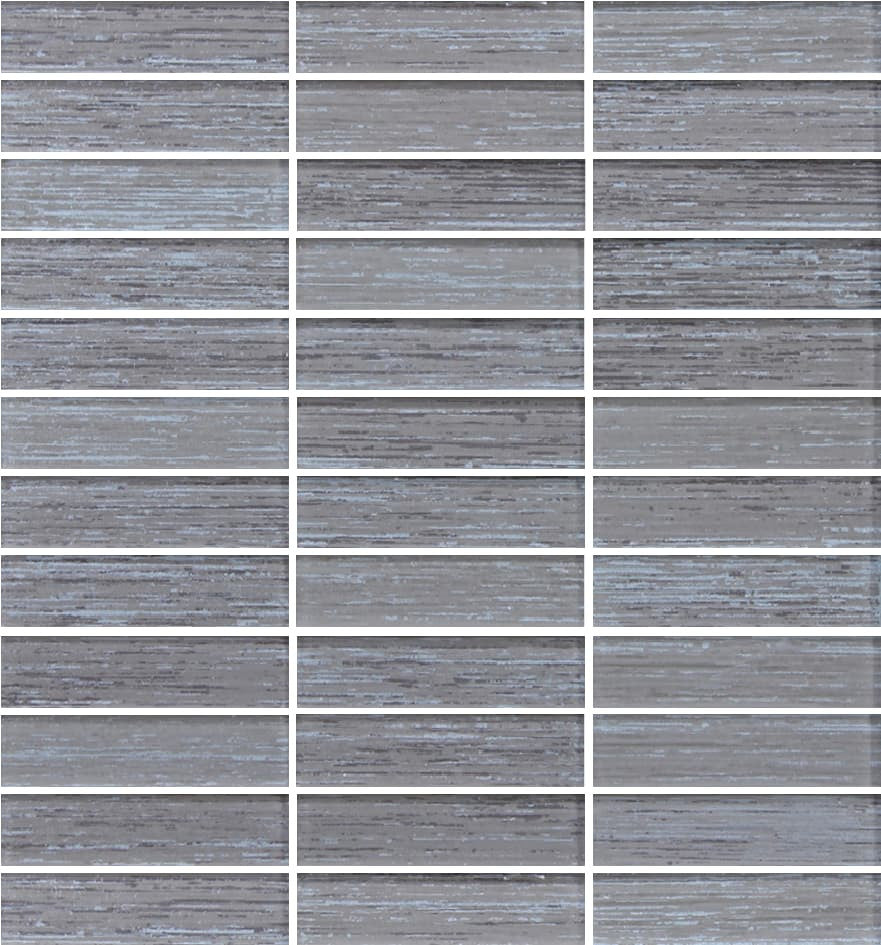 Silk series latte textured glass mosaic tiles rocky for Glass tile texture