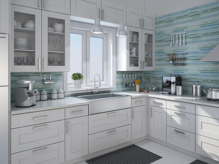 rip curl hand painted linear glass mosaic tiles rocky point tile glass and mosaic