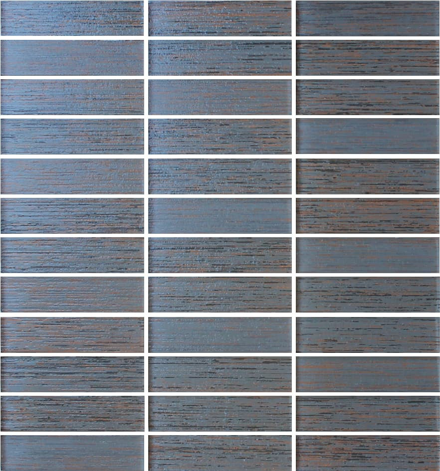 Silk Series Spice Textured Glass Mosaic Tiles - Rocky Point Tile - Glass and Mosaic Tile Store