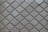 Stainless Steel Arabesque Mosaic Tiles - Rocky Point Tile - Glass and Mosaic Tile Store