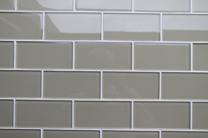 Straw 3x6 Glass Subway Tiles Rocky Point Tile Glass