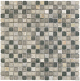 Vetro Italia Trento Stone and Glass Square Mosaic Tiles - Rocky Point Tile - Glass and Mosaic Tile Store