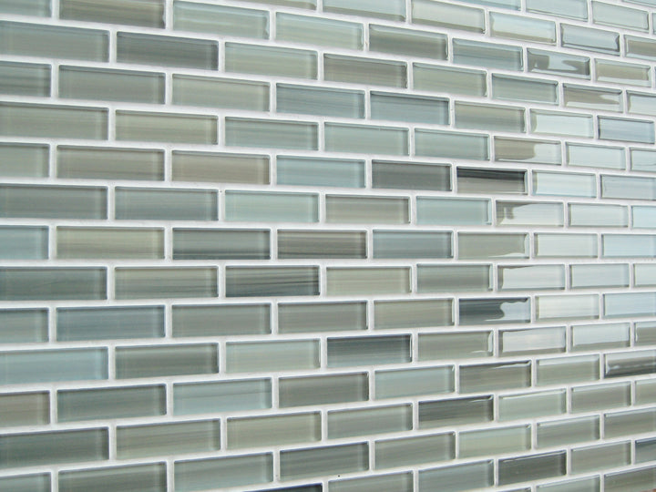 Reflections Hand Painted Glass Mosaic Subway Tile Rocky Point Tile Glass And Mosaic Tile Store