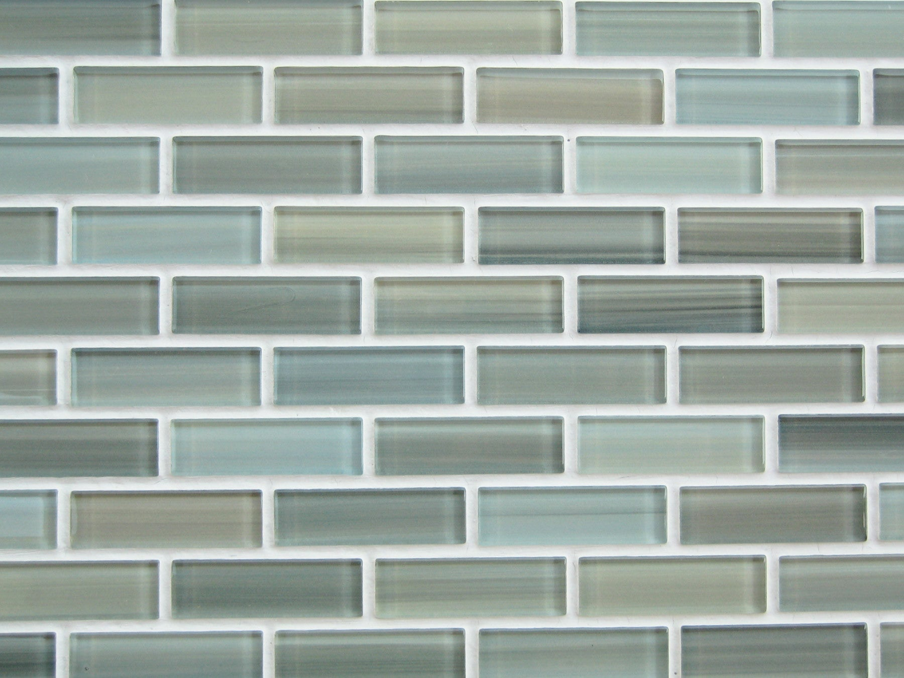 Reflections hand painted glass mosaic subway tile rocky for Images of subway tile