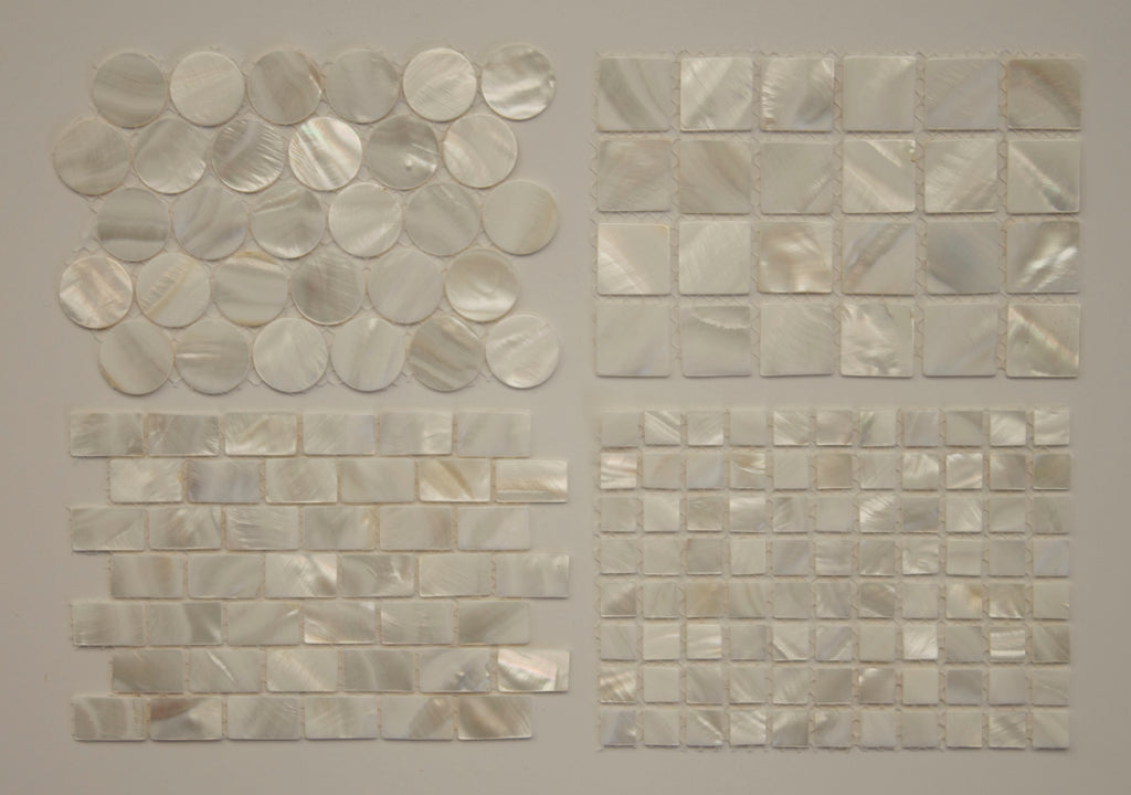 Mother Of Pearl Mosaic Tile Sample Pack Rocky Point Tile