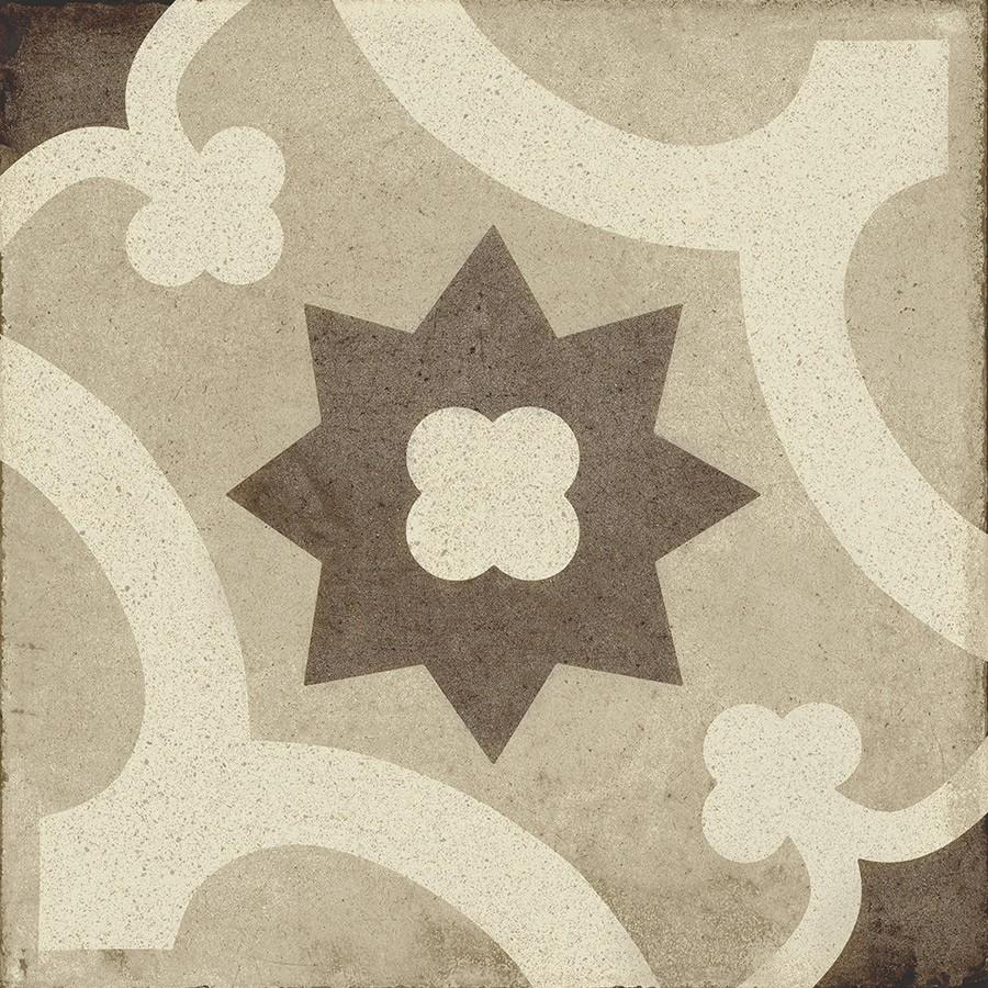 Ambra 2 Decor - Ottocento 8x8 Encaustic Look Tiles