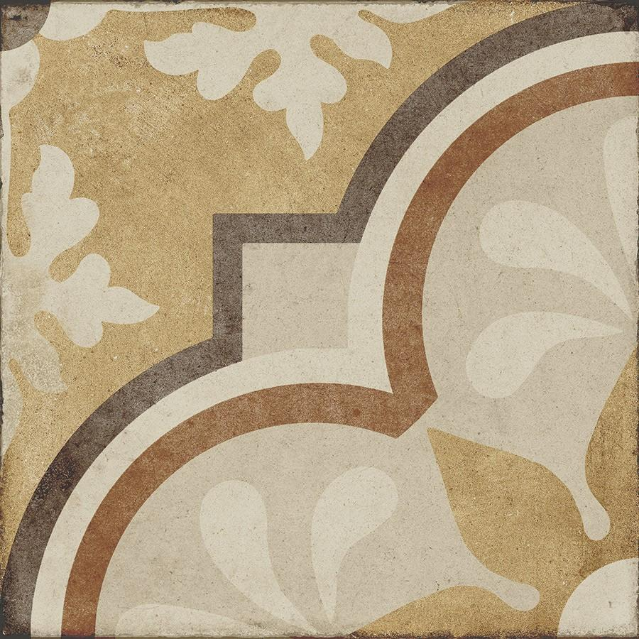 Ambra 4 Decor - Ottocento 8x8 Encaustic Look Tiles