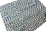 Reflections Hand Painted Linear Glass Mosaic Tiles - Rocky Point Tile - Glass and Mosaic Tile Store