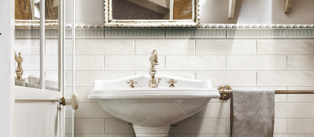 Boston 3x12 Matte Porcelain Subway Tile - Gesso