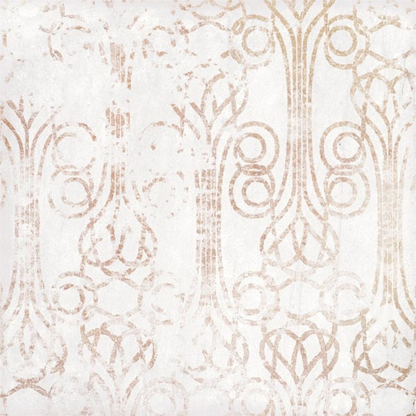 Mestizaje Zellige Chateau Antique White Porcelain 7 x 7 Floor Tiles