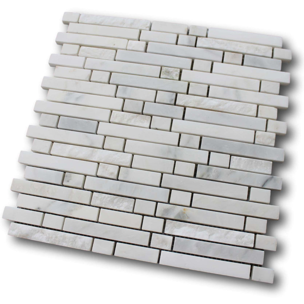 Chicago Marble Mosaic Tile - White