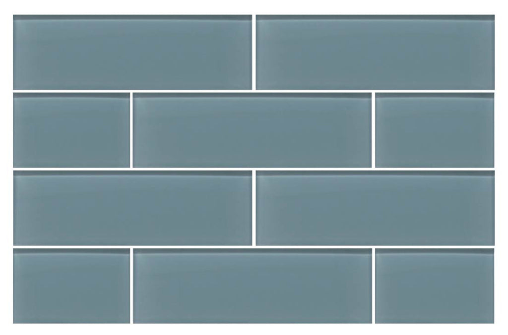 Chimney Smoke Gray 4x12 Glass Subway Tiles Rocky Point Tile Online Tile Store