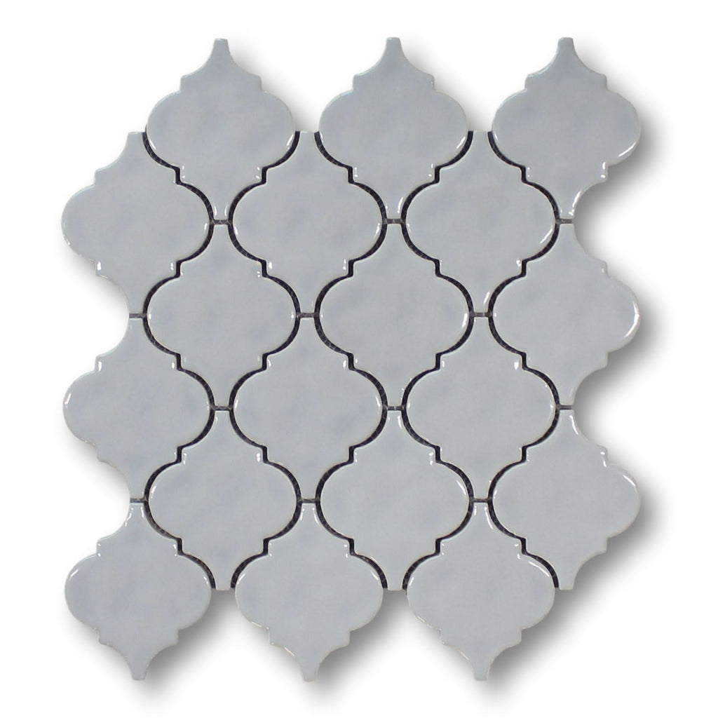 Ceramic Arabesque Mosaic Tiles - Cloud