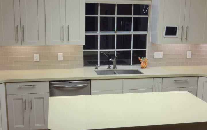 kitchen backsplash glass subway tile.  Country Cottage Light Taupe 3x6 Glass Subway Tiles Rocky Point Tile And Mosaic