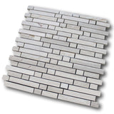 Chicago Marble Mosaic Tile - Driftwood