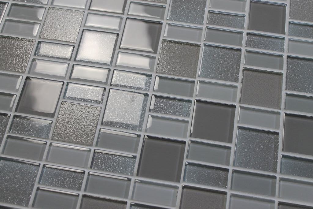 Fusion Pearl Glass Mosaic Tiles - Rocky Point Tile - Glass and Mosaic Tile Store
