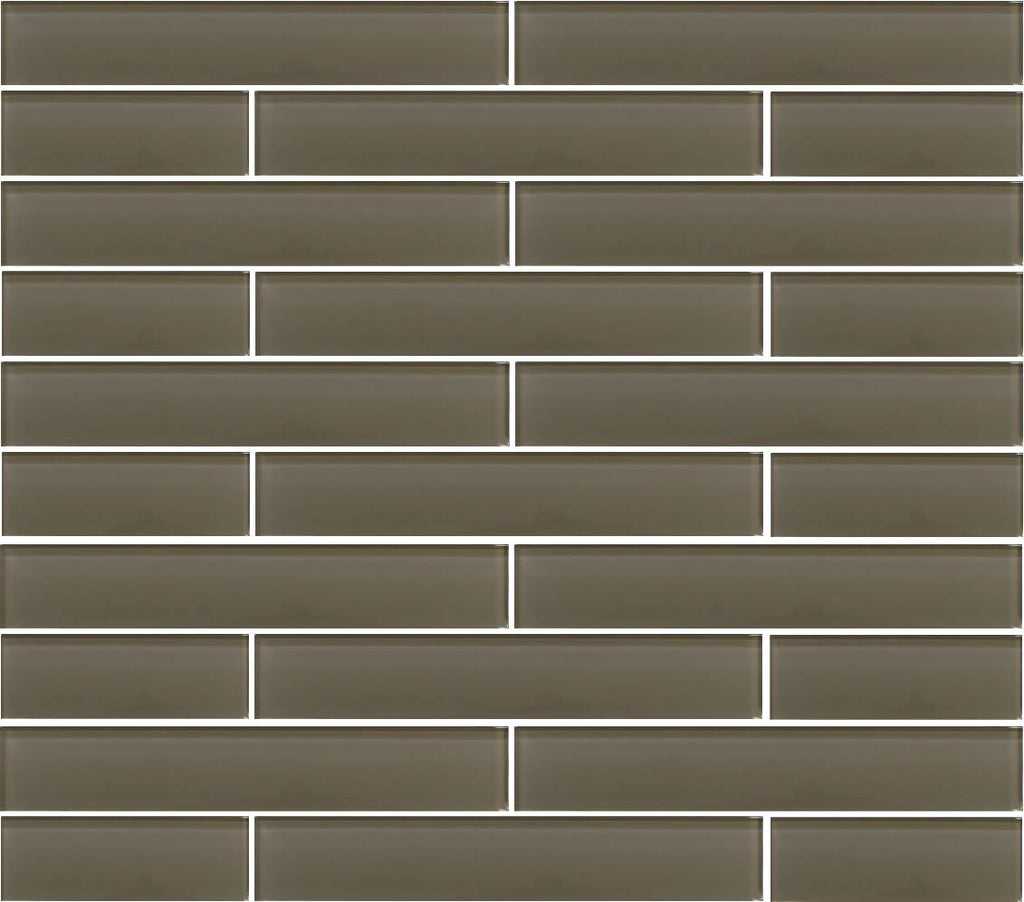 3x6 Glass Subway Tile Sample Combo Pack Beige Taupe And Brown