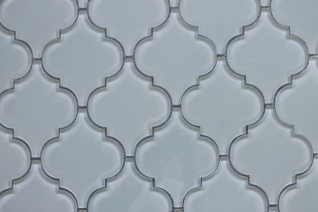 Pacifica Arabesque Glass Mosaic Tiles - Rocky Point Tile - Glass and Mosaic Tile Store