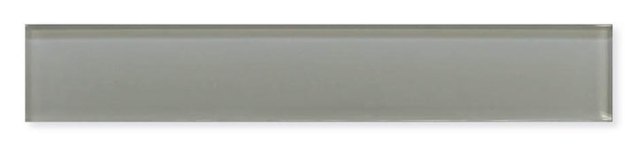 Pearl Gray 2x12 Glass Subway Tiles Rocky Point Tile