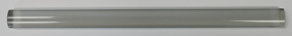 Pearl Gray Glass Pencil Trim - Rocky Point Tile - Glass and Mosaic Tile Store