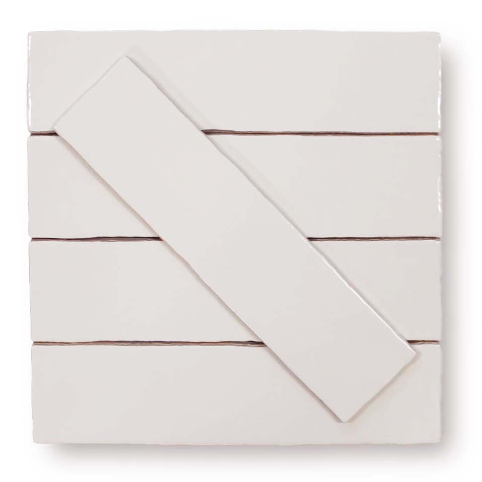 Tencer Tiempo 3 x 12 Ceramic Subway Tiles - Plaster