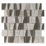 Trap Portobello Glass and Stone Mosaic Tiles