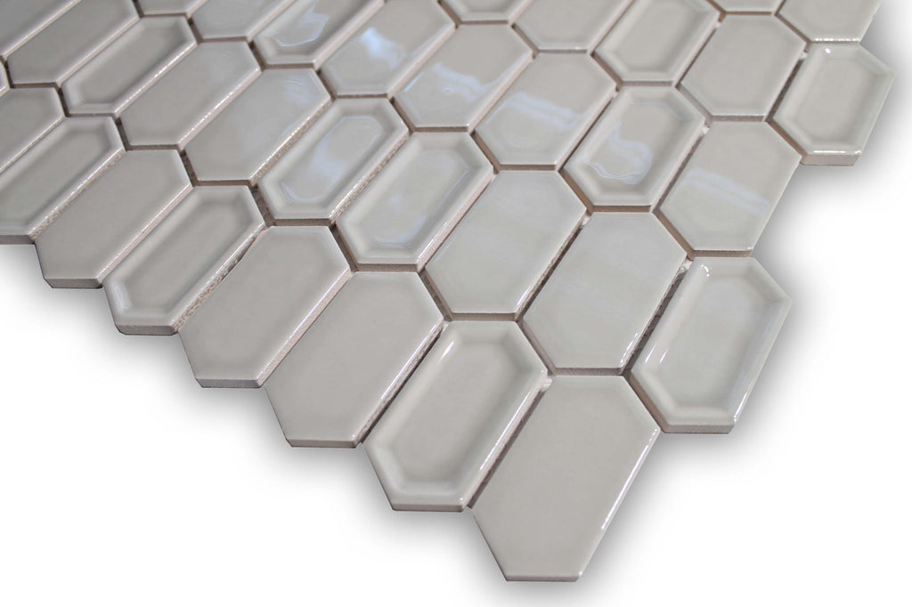 Ceramic Mosaic Tile - Pumice - Rocky Point Tile - Glass and Mosaic Tile Store