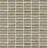 Sparkle Sand Glass Mosaic Subway Tiles - Rocky Point Tile - Glass and Mosaic Tile Store