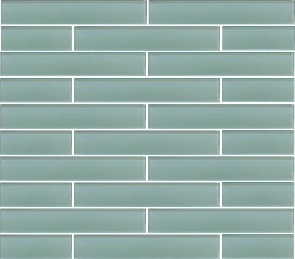 Seafoam 2x12 Glass Subway Tiles – Rocky Point Tile - Glass and ...