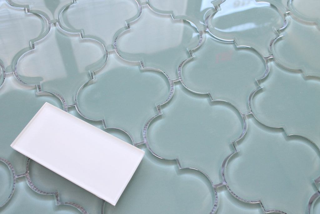 Seaside Arabesque Glass Mosaic Tiles Rocky Point Tile Interiors Inside Ideas Interiors design about Everything [magnanprojects.com]