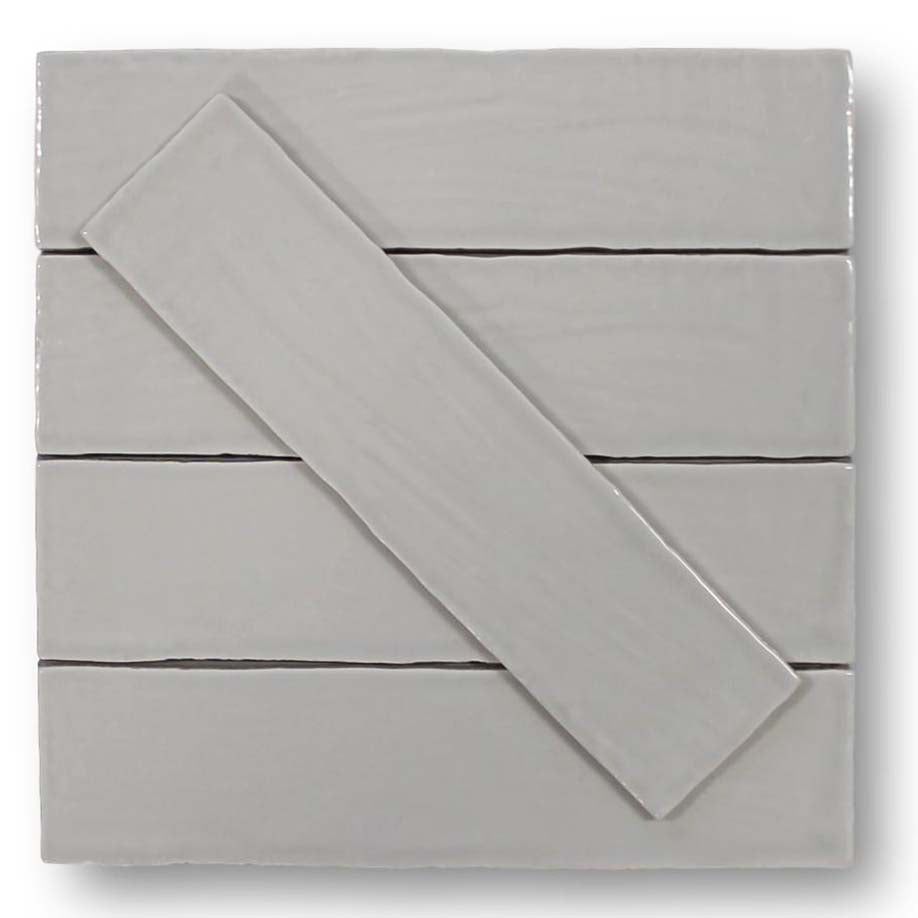 Tencer Tiempo 3 x 12 Ceramic Subway Tiles - Shadow