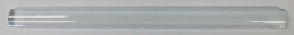 Snow White Glass Pencil Trim - Rocky Point Tile - Glass and Mosaic Tile Store