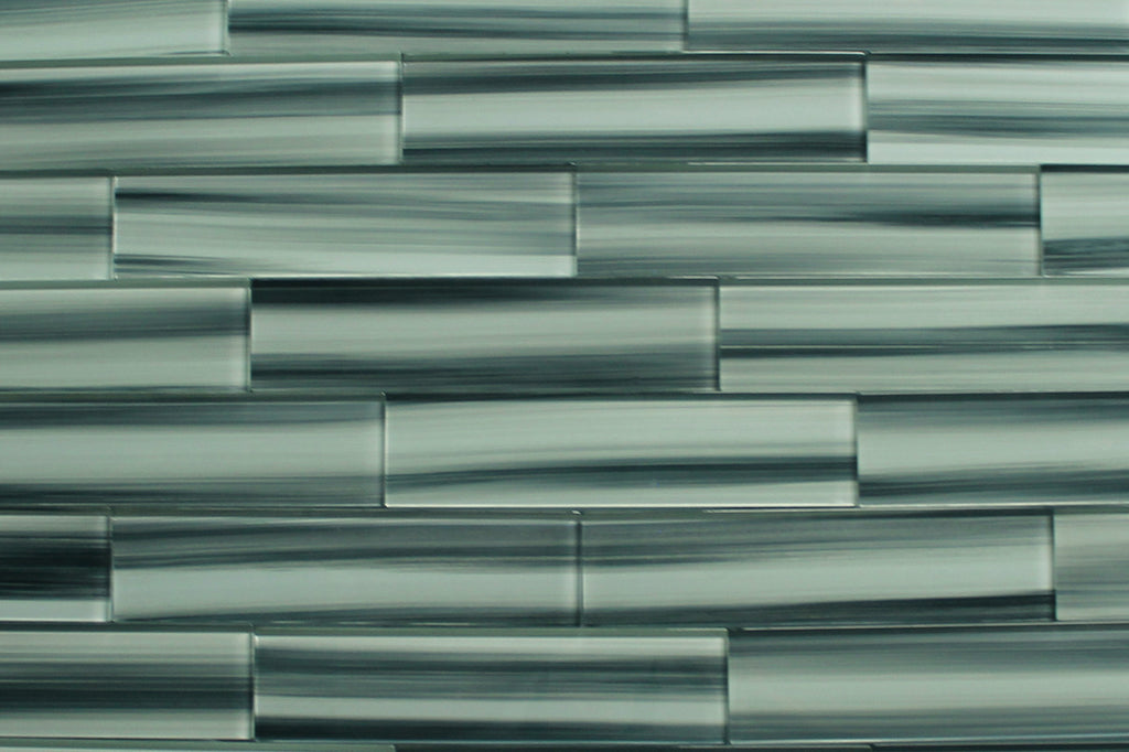 Surfz Up Hand Painted 3 x 12 Glass Subway Tiles - Rocky Point Tile - Glass and Mosaic Tile Store
