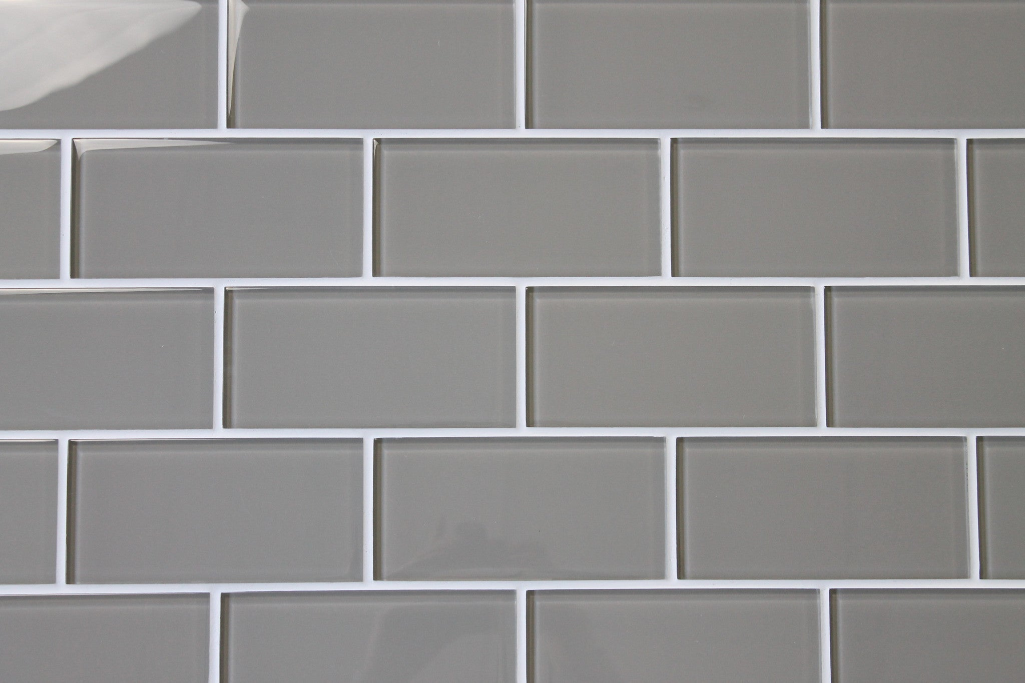 Taupe 3x6 Glass Subway Tiles Rocky Point Tile Online