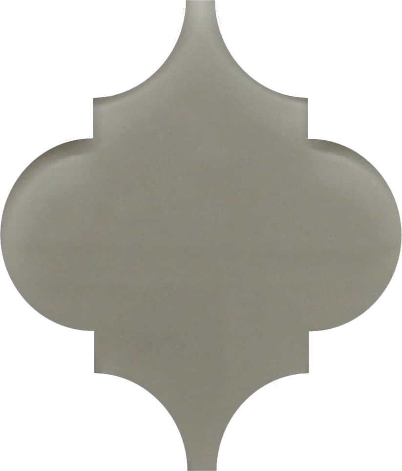 Taupe Arabesque Glass Mosaic Tiles - Rocky Point Tile - Glass and Mosaic Tile Store