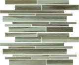 Utaupia Hand Painted Linear Glass Mosaic Tiles
