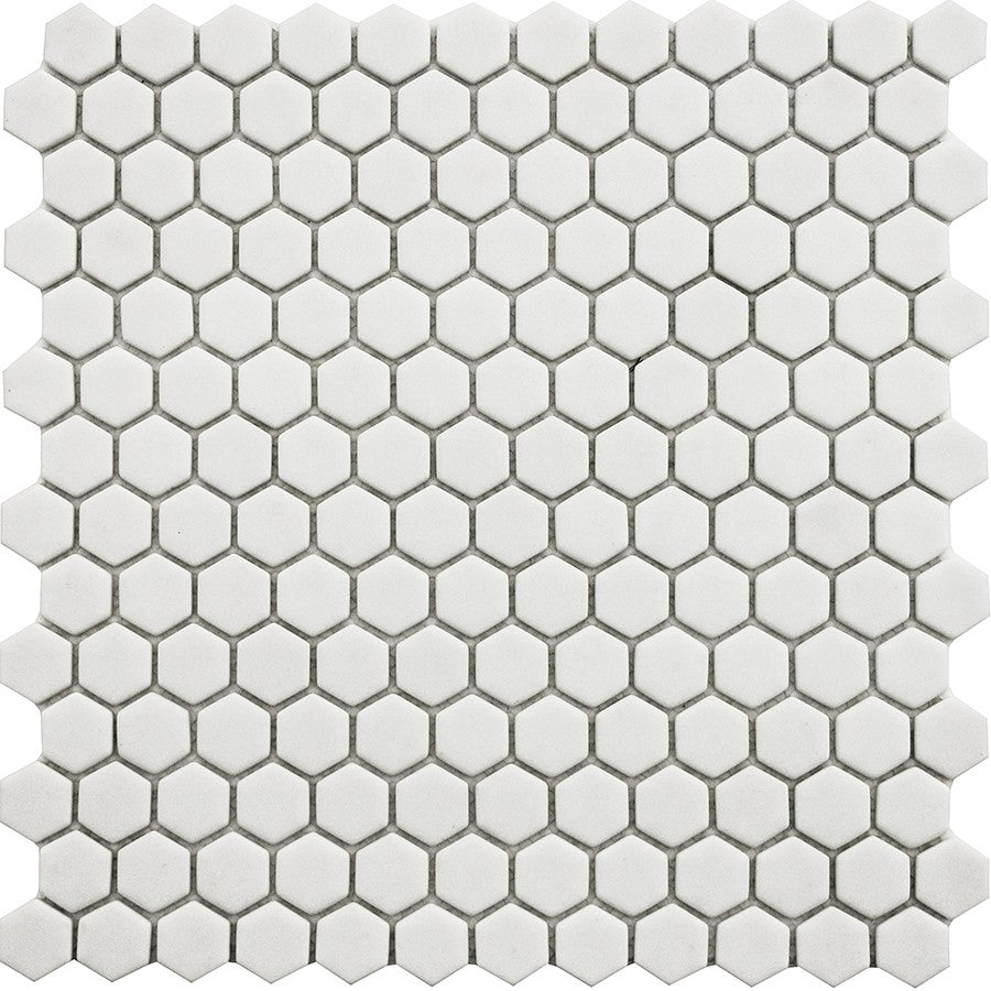 Vetro D'Terra Dolomite Hexagon Glass Mosaic Tiles - Rocky Point Tile - Glass and Mosaic Tile Store